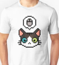 Pixel cat Unisex T-Shirt