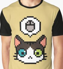 Pixel cat Graphic T-Shirt