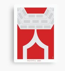 Ultraman Seven Canvas Print