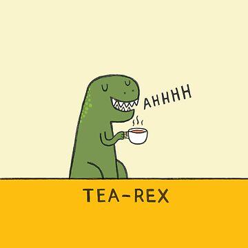Tea-Rex by MakeAndLive