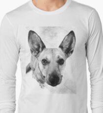 Carolina Gray Pup Long Sleeve T-Shirt
