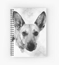 Carolina Gray Pup Spiral Notebook