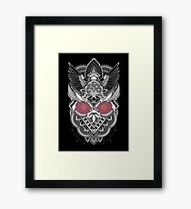 The Random Dimension Framed Print