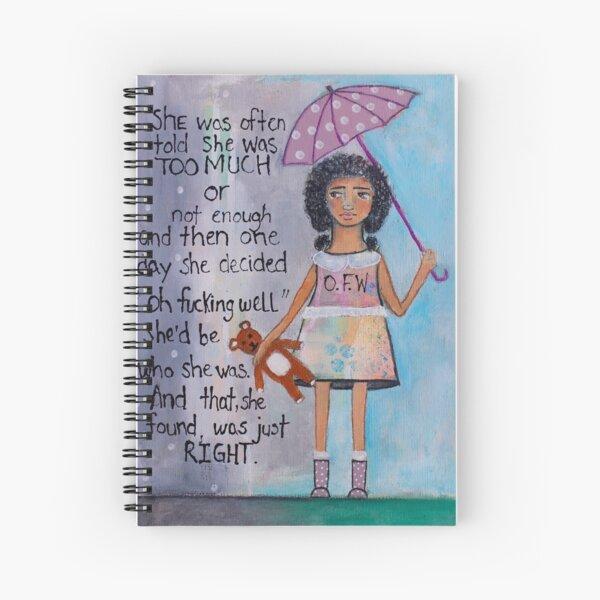 O.F.W Spiral Notebook