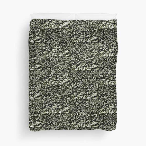 Painted Ivy - Dark Green Art Photo Duvet Cover