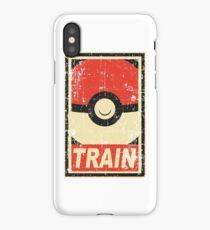 Pokemon train iPhone Case/Skin