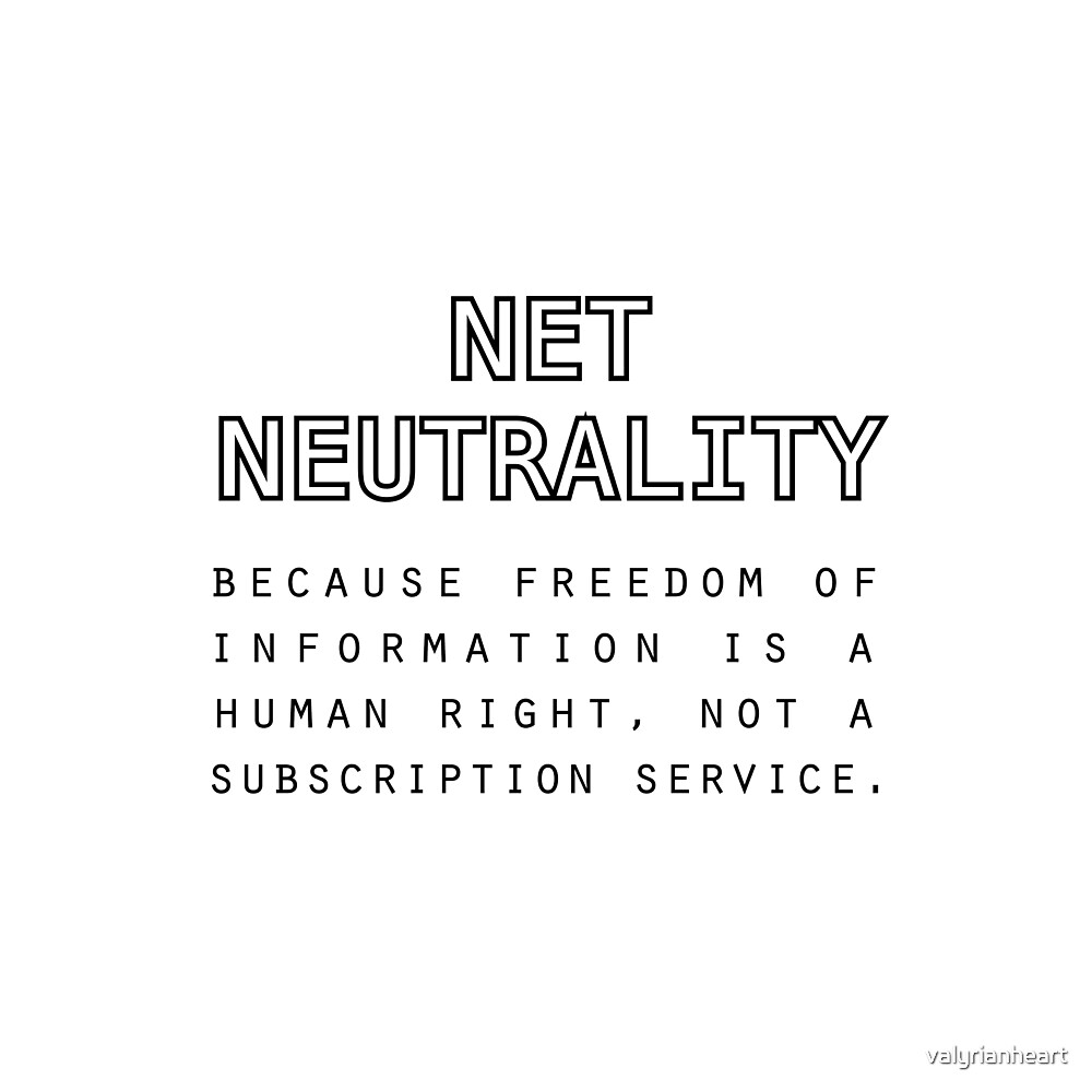 Save #NetNeutrality by valyrianheart