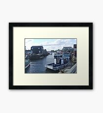 Fisherman's Cove, Nova Scotia, Canada Framed Print