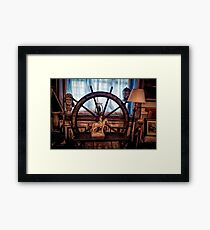 Antique Nautical composition Framed Print