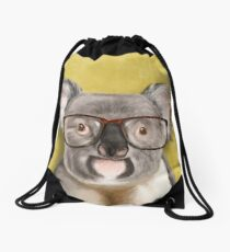 Mr Koala Drawstring Bag