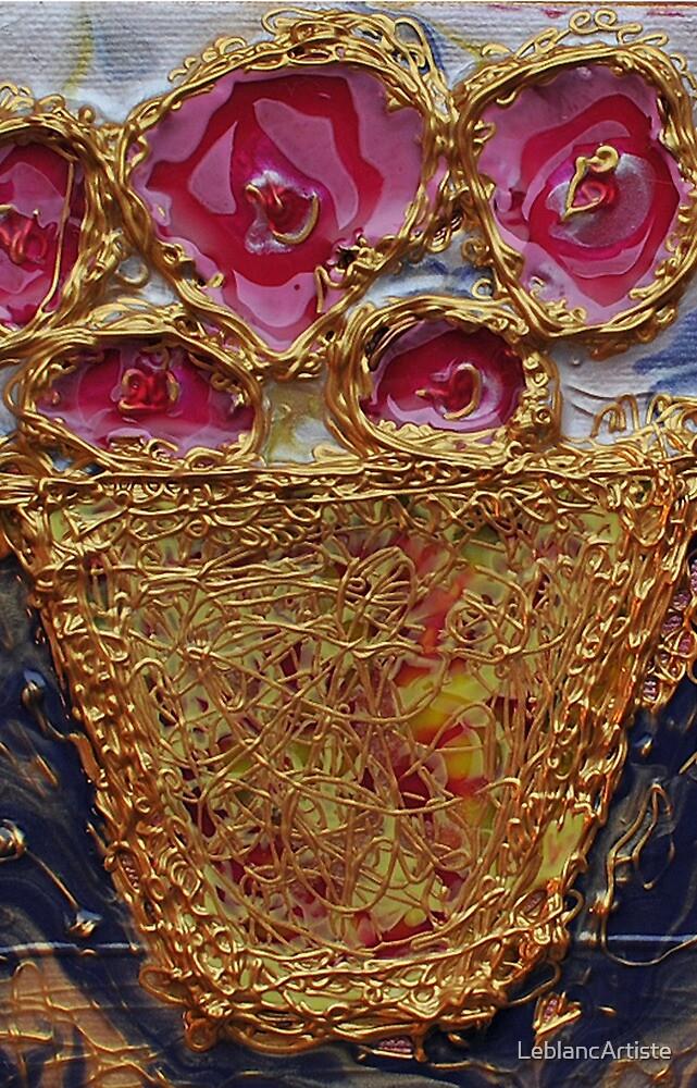 Five Roses by LeblancArtiste
