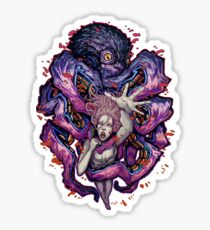 Octopus Monster Sticker