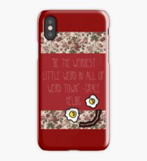 Grace Helbig Weird Qoute iPhone Case/Skin