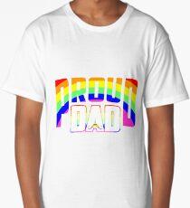 Cool Proud Dad LGBT Pride Long T-Shirt