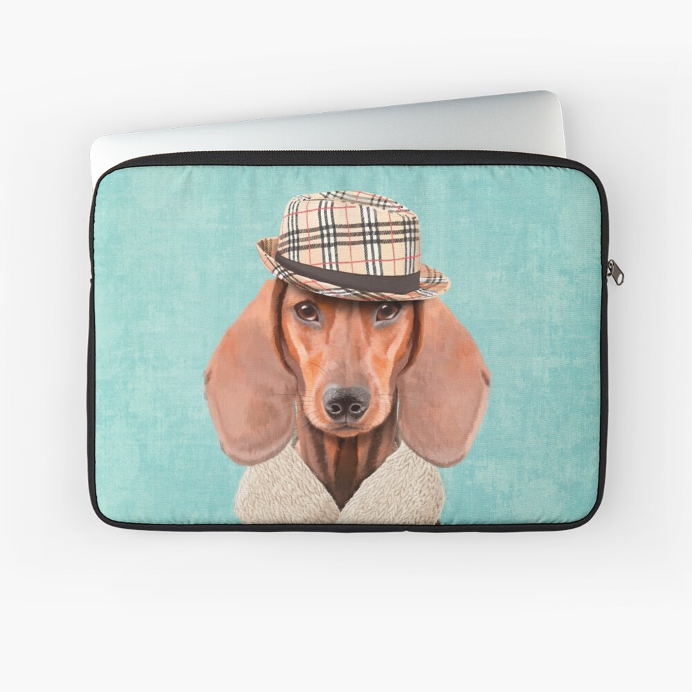 Mr Dachshund Laptop Sleeve