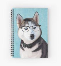 Mr Siberian Husky Spiral Notebook