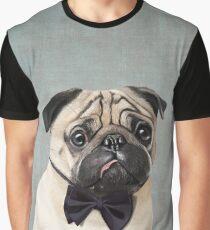 Mr Pug Graphic T-Shirt