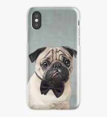 Mr Pug iPhone Case/Skin