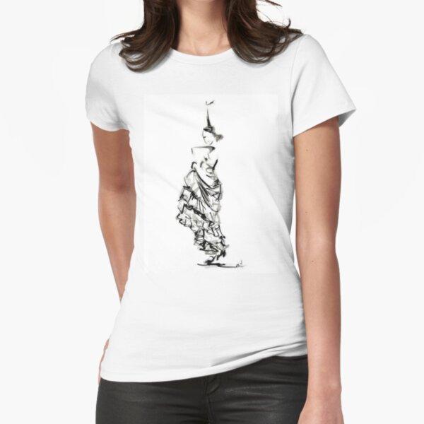 Camiseta Flamenco Dancer Camiseta entallada