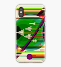 NASA Space Tourism Posters: Grand Tour iPhone-Hülle & Cover