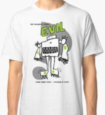 Order Evil Turbo Robot Monster Comic Design Classic T-Shirt