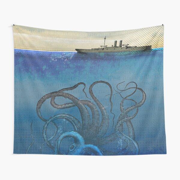 Sea Monster Tapestry