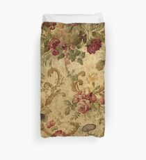 Vintage,tapestry,floral,elegant,victorian,rustic,grunge,elegant,chic Duvet Cover