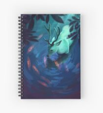 Mystic Deer Spiral Notebook