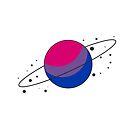 Bisexual Pride Planet by SavaMari