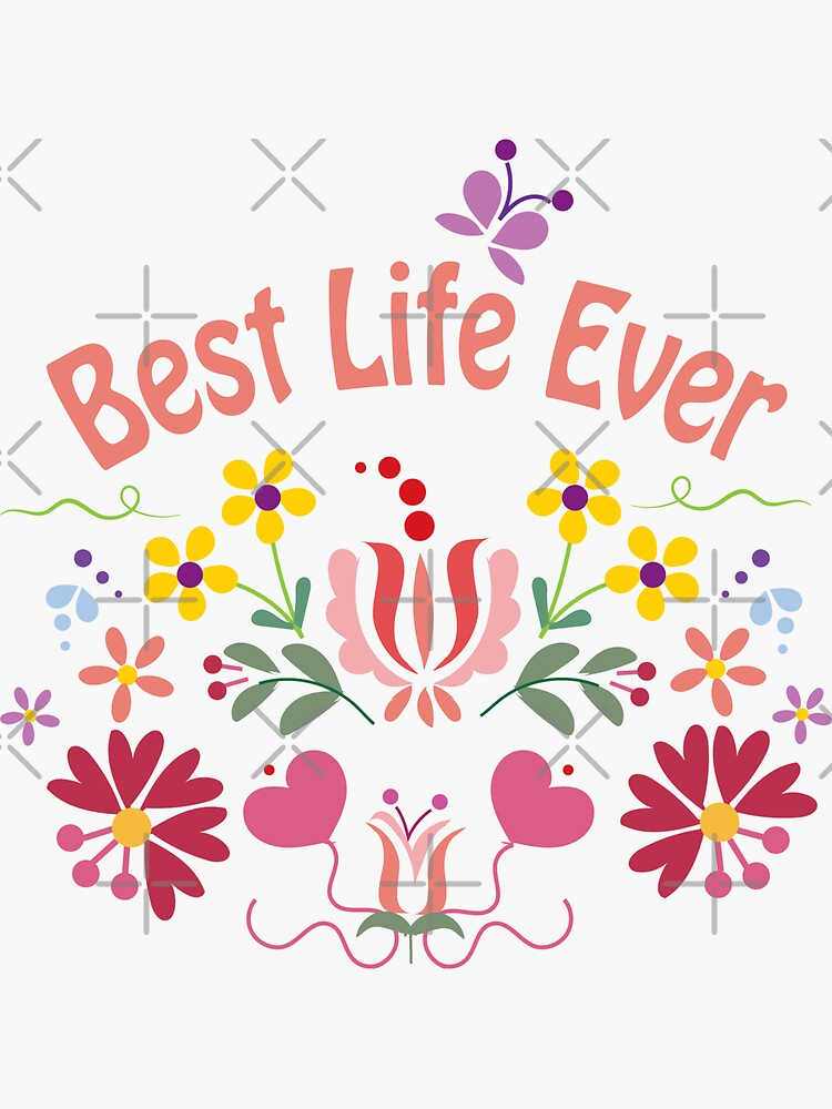 Best Life Ever Spring White by CreativeContour