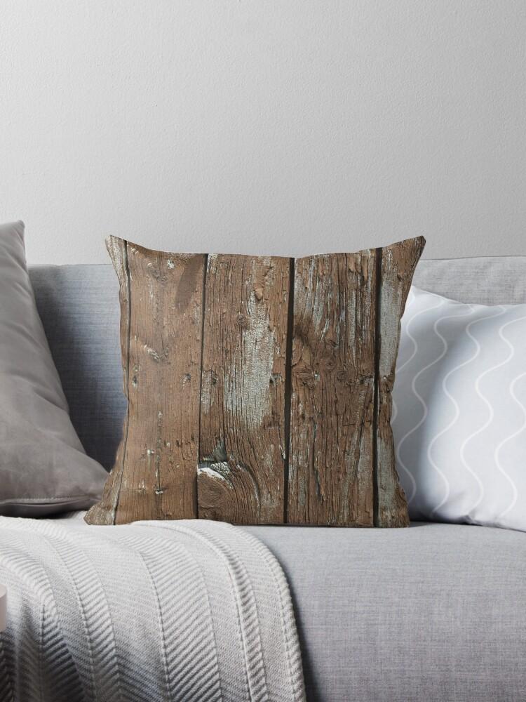 Rugged wood plank design by artisticattitud