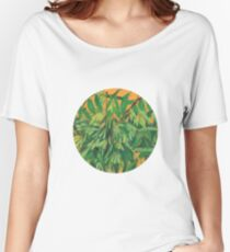 """Ash-tree"", green & yellow, floral art Women's Relaxed Fit T-Shirt"