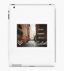 STAY FOOLISH iPad Case/Skin