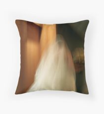 An eerie feeling Throw Pillow