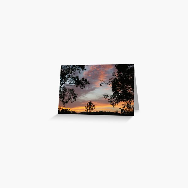 Sunrise Delight II Greeting Card