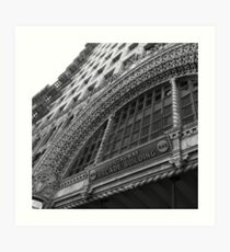 Arcade Building, Downtown L.A. Art Print