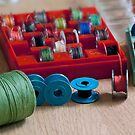 Thread and bobbin for sewing machine by mrivserg