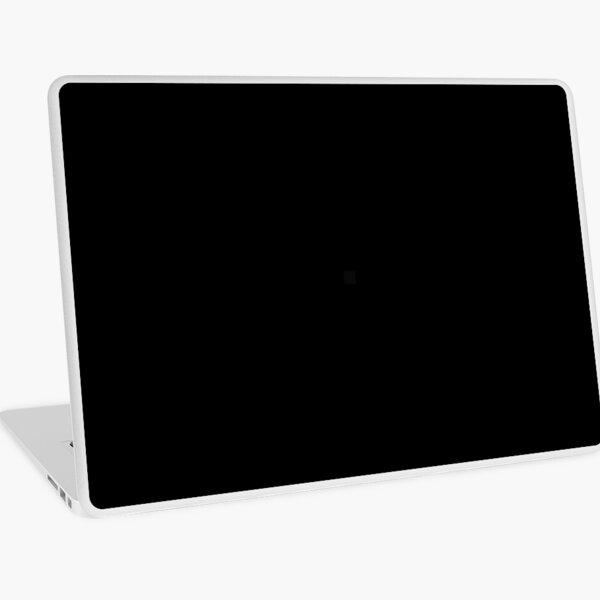 Plain Solid Black Laptop Skin