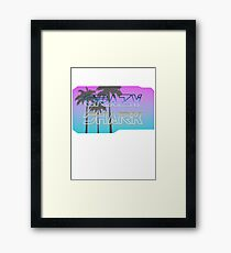 Retro Shark Framed Print
