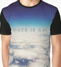 Space is Gay Graphic T-Shirt
