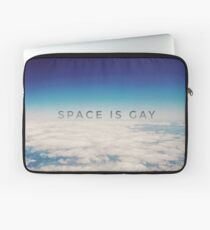 Space is Gay Laptop Sleeve