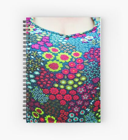 Big Flowery Boobies Spiral Notebook