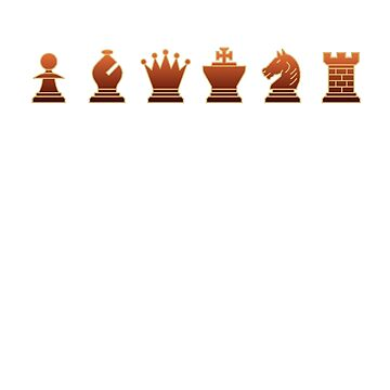 Chess - Brown pieces by Rocky64