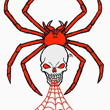 Skull Spider by Spydr
