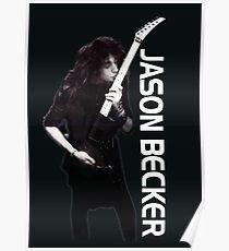 """Jason Becker """"Guitar Kiss"""" Poster"""