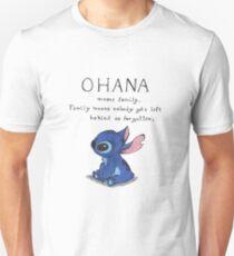 Ohana Means Family T-Shirt