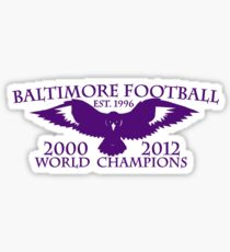 BALTIMORE FOOTBALL T-SHIRT Sticker