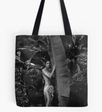 Girl in Tahiti Tote Bag