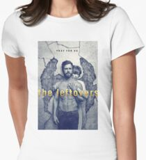 The Leftovers Wall Womens Fitted T-Shirt