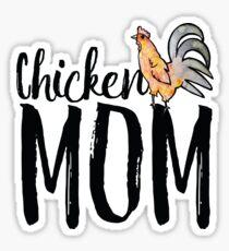 Chicken Mom Sticker